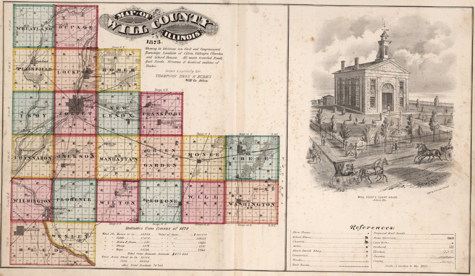 Courthouse and Maps